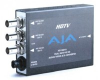 AJA SD/HD CONVERTER Analog Composite or Component - EX-DEMO UNIT